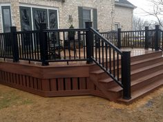 solid deck pic ic area rails - Google Search