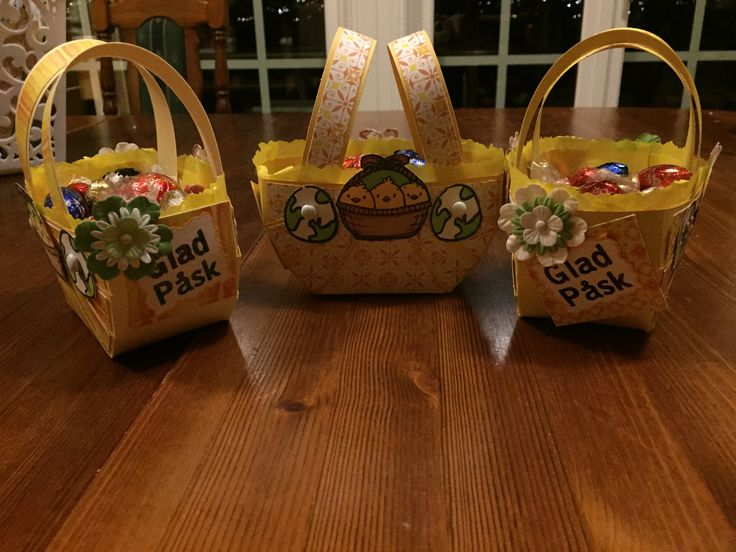 Easter basket #scrapbooking# #easter#