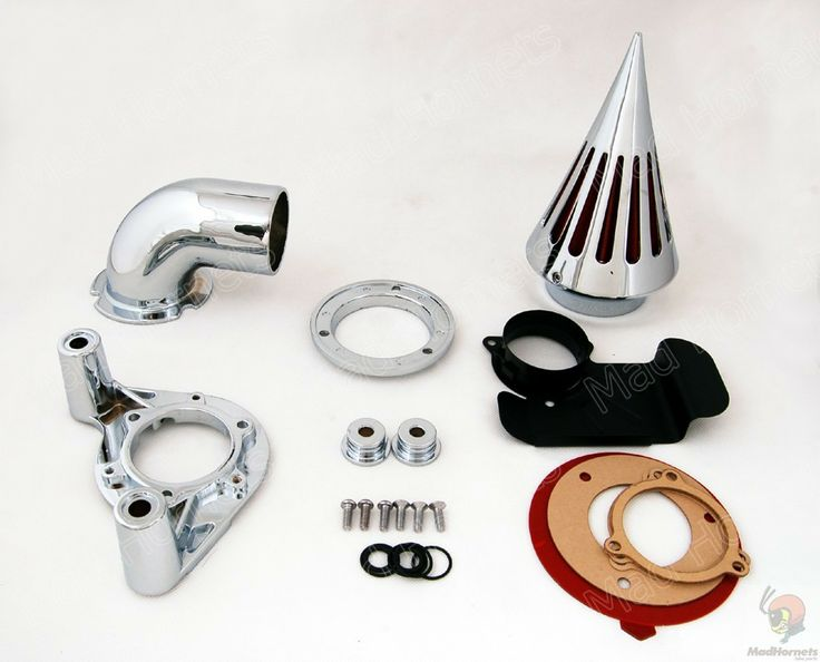 Mad Hornets - Spike Air Cleaner Intake Filter Kit  Harley Davidson Dyna and Touring (2008-2012) Chrome, $149.99 (http://www.madhornets.com/spike-air-cleaner-intake-filter-kit-harley-davidson-dyna-and-touring-2008-2012-chrome/)
