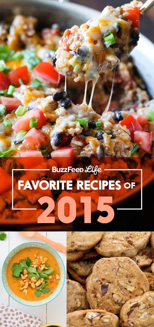 These Are The Recipes That Won 2015