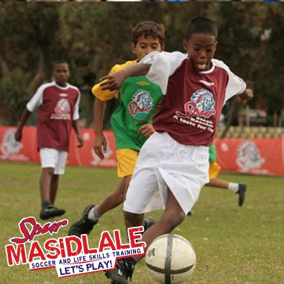 Soccer Masidlale   http://www.spur.co.za/about-us/event/soccer-masidlale