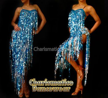 Charismatico Dancewear offers a selection of sequin and balroom dresses, drag queen and cabaret costumes.  Buy your dancewear online and save up to 40%.