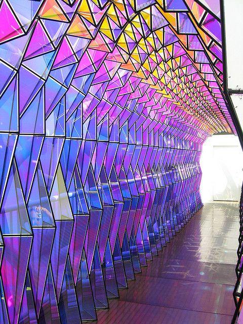 Olafur Eliasson - Origami portal, San Francisco Museum of Modern Art