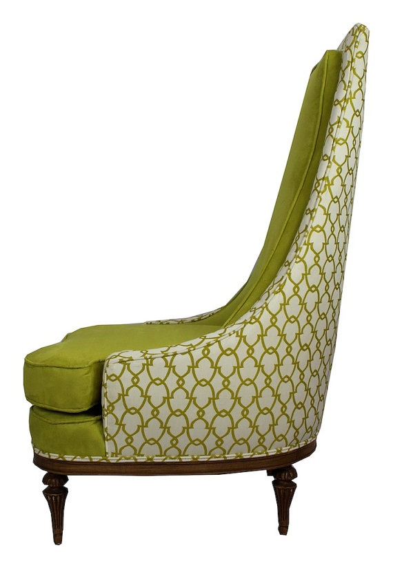 precious modern chair. Green Retro Chair by TishLifestyleCO on Etsy 9 best Chairs images Pinterest  Armchairs Cocktail chair and