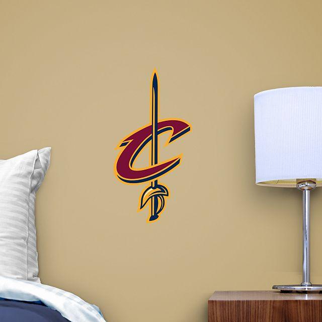 Cleveland Cavaliers Sword Teammate Logo Fathead Teammate U2013 Peel U0026 Stick Wall  Graphic | Cleveland Cavaliers