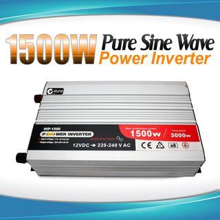 Pure Sine Wave Power Inverter 1500w / 3000w 12v - 240v AUS plug Car Boat Caravan