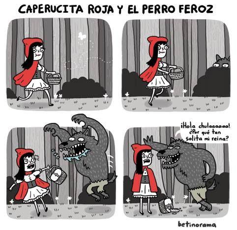 Caperucita Roja y el Perro Feroz