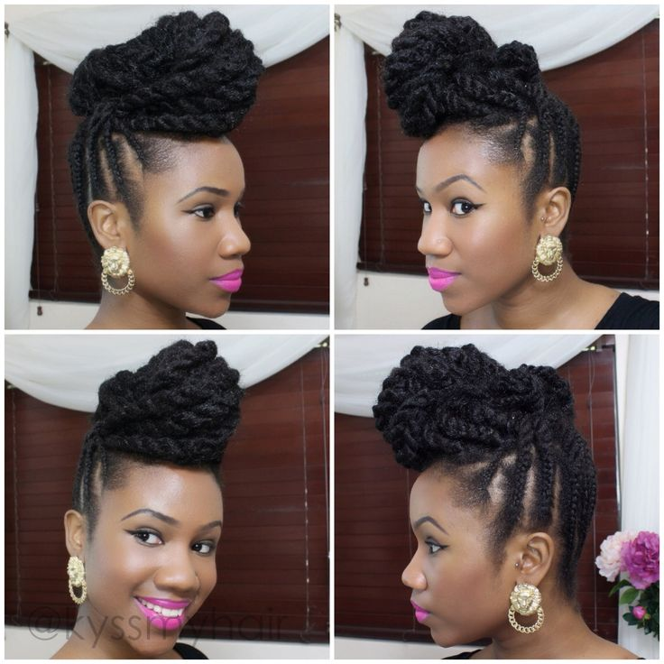 Super 1000 Images About Updo Hairstyles Using Braiding Hair On Short Hairstyles For Black Women Fulllsitofus