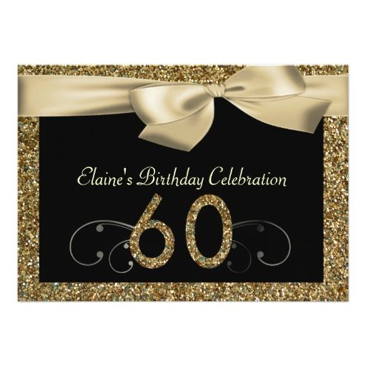 431 best Black Gold Birthday Party Invitations images – Black Invitation Cards