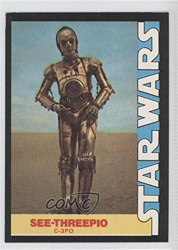 C-3PO (Trading Card) 1977 Wonder Bread Star Wars - Food Issue [Base] #7 //Price: $3.75 & FREE Shipping //     #starwarsmeme