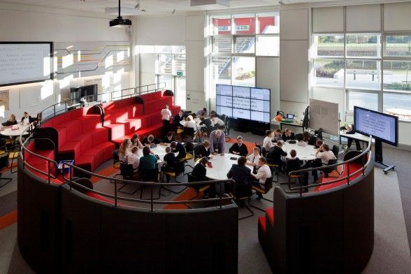 Rethinking Classroom Design ~ Best teaching spaces classrooms and seminar rooms