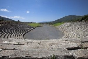Ancient Messini, Stadium