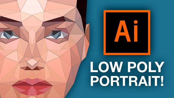Illustrator Tutorial: Low Poly Portrait! This is sort of a remake of my Photoshop low poly portrait tutorial, but for Illustrator. I realized that it would b...