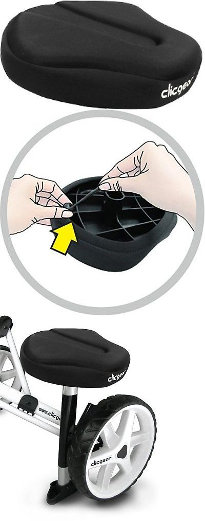 Saddle Covers Seat Covers 177838: Clicgear Soft Seat Cover, Black -> BUY IT NOW ONLY: $31.25 on eBay!
