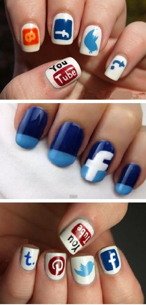 Social Media Nail Art