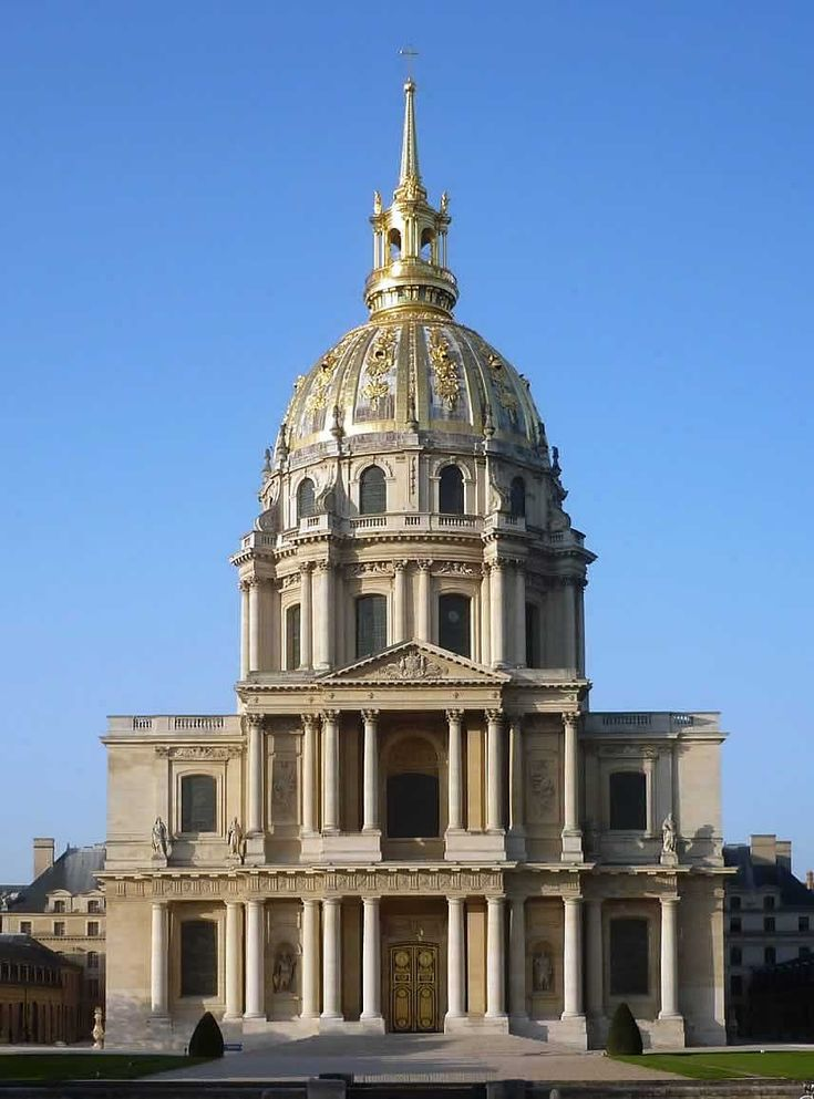 Jules Hardouin-Mansart kościół des Invalides w Paryżu