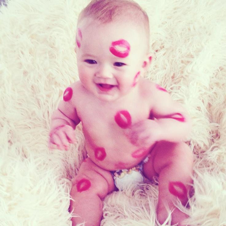 #valentine kisses #baby