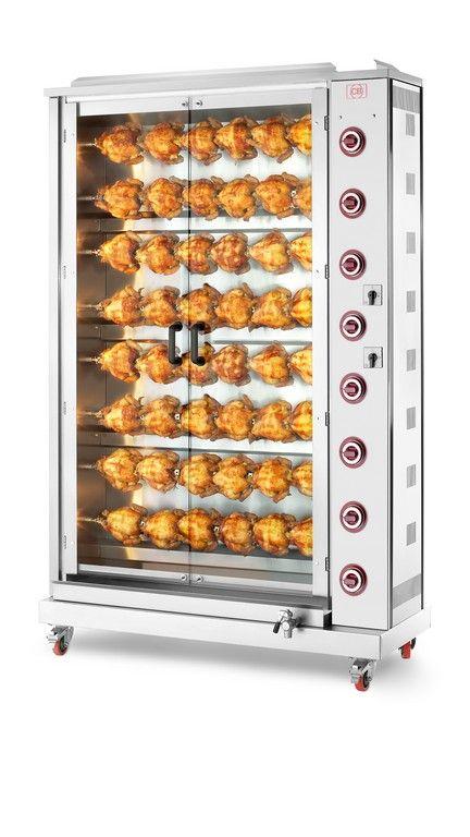 Girarrosto verticale gas 48 polli. www.cb-italy.com