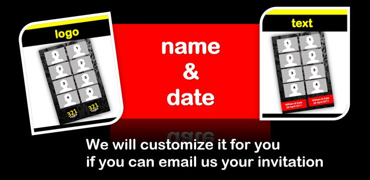 logo text customization from cheap photo booth hire Melbourne