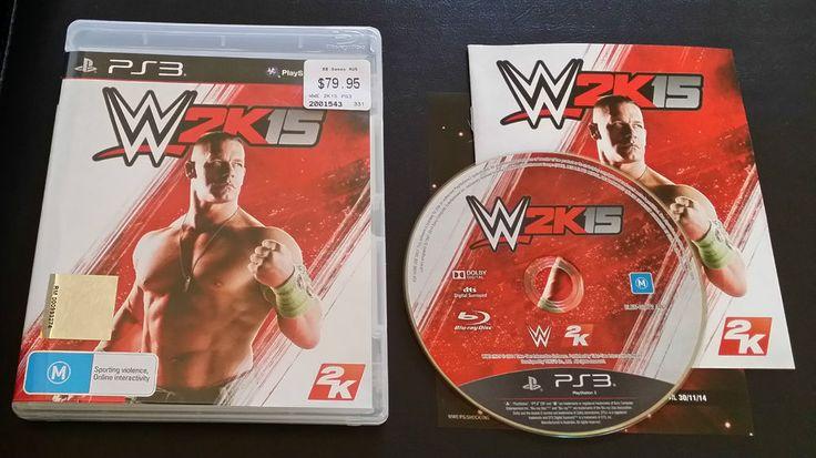 WWE 2K15 Sony PlayStation 3 - PS3 - FREE Postage