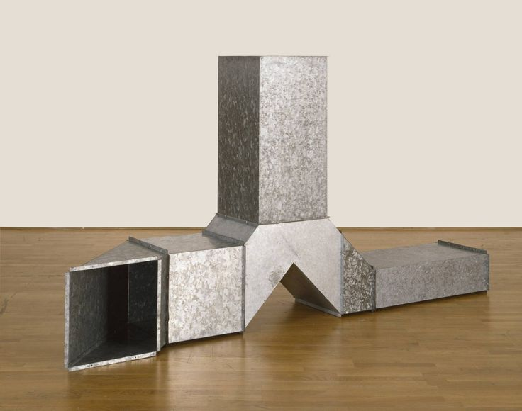 Square Tubes [Series D] 1967 / Charlotte Posenenske