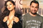 Sunny Leone to Sizzle Beside Aamir Khan