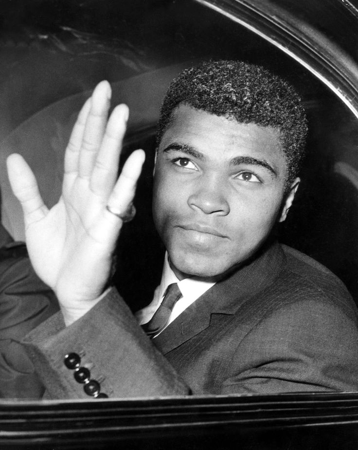 Muhammad Ali through the looking glass...