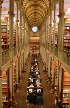 The University Library in Fiolstræde, Copenhagen