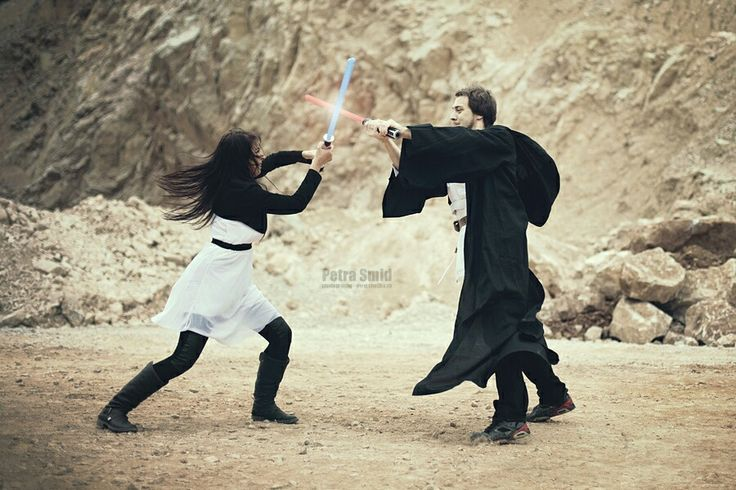 Star Wars wedding video Slafko & Nika