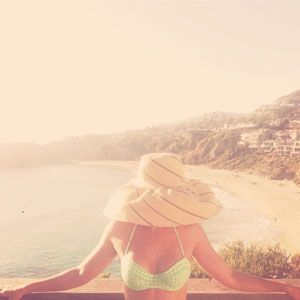 Lauren Conrad Is Team Big Hat -- And We Want This Look : We want to go to there. #SelfMagazine