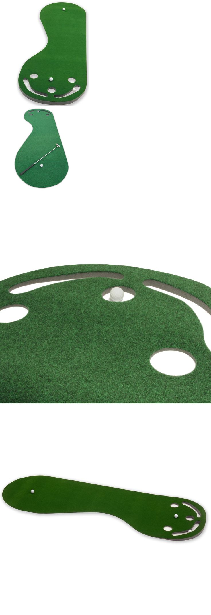Nets Cages and Mats 50876: Practice Putting Green Par 3 Golf Mat Indoor Aid Training Equipment Putt Turf -> BUY IT NOW ONLY: $35.99 on eBay!