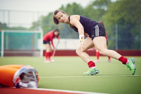 Maddie Hinch: Fitness tips for a hockey goalie