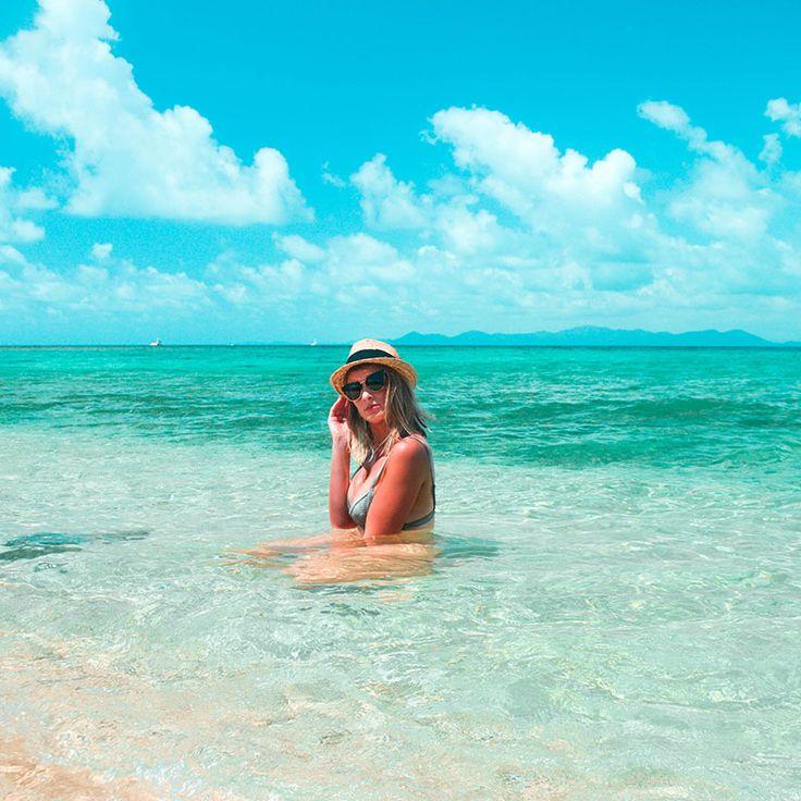 Frills in The Frankland Islands. Love living the tropical island life!  bikini girl. tropical ocean. tanned bikini. summer style. wanderlust. beautiful beach. far north queensland