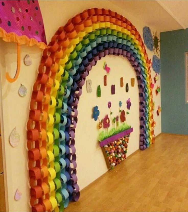 It Is A Nice Wall Decoration Idea For Kids Room Or