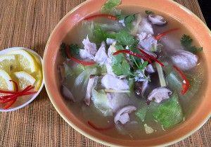 detikcom | Resep Sup: Sup Kakap Lettuce