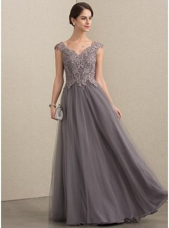 04cb2c52b29 A-Line Princess V-neck Floor-Length Sequins Zipper Up Cap Straps Sleeveless  No Other Colors General Plus Tulle Lace Height 5.7ft Bust 33in Waist 24in  ...