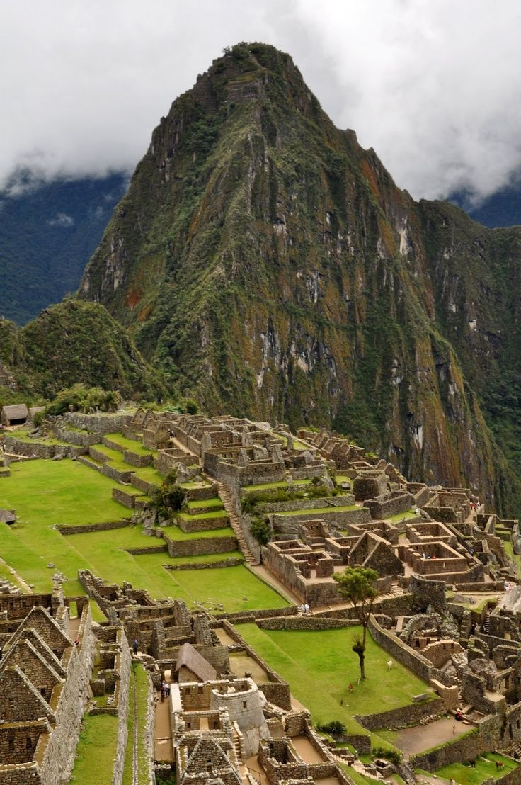 Machu Pichu, Peru @Cassidy Miller we ARE going here together one day!
