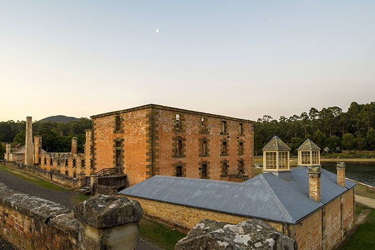 Port Arthur's picturesque landscape belies the grim events that took place here (Tourism Tasmania & Rob Burnett) #UniqueTassie @discovertas