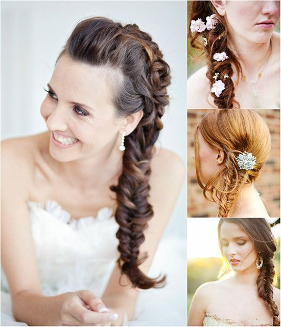 Wedding Hairstyle With Hair Extensions: 332 Best Images About Wedding Hairstyles / Fryzury ślubne