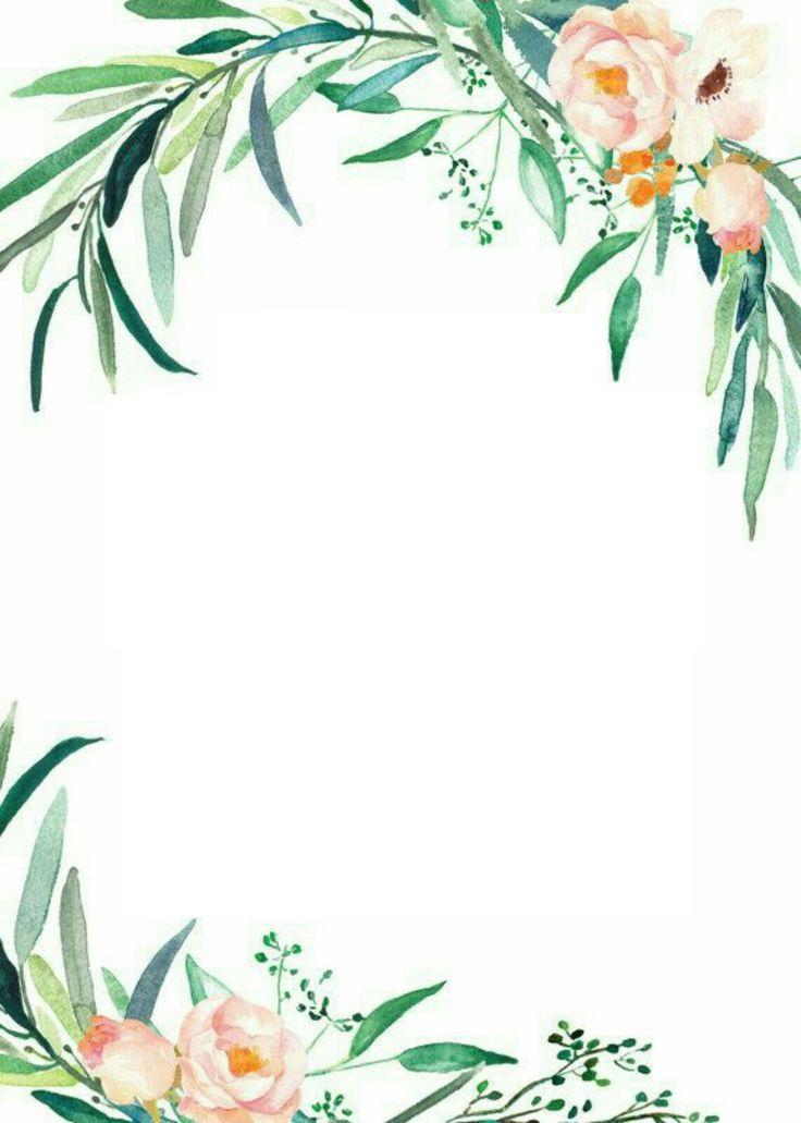 watercolor flowers details