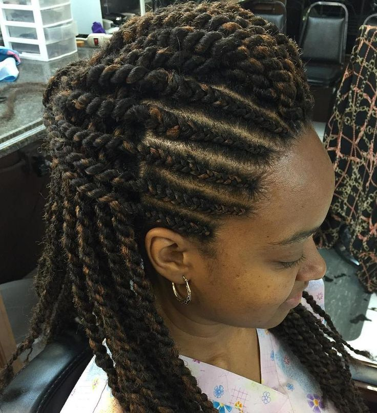 twist hair style 1000 ideas about half cornrows on 3c hair 3495