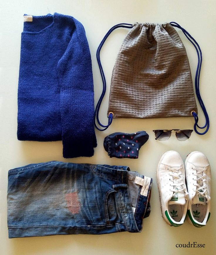 One outfit for comfortable backpack by coudrEsse