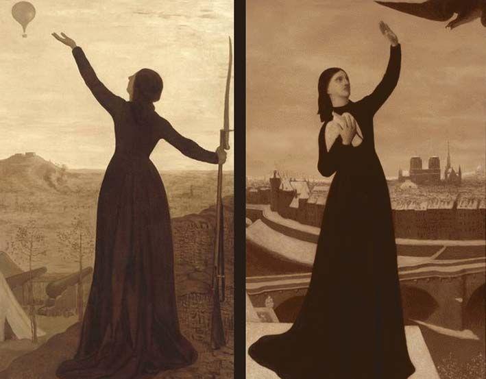 """Martha Verschaffel: november 2009  Martha Verschaffel709 × 553Buscar por imágenes  two of my favourite paintings """"le ballon"""" (1870) and """"le pigeon"""" (1871) by pierre-puvis de chavannes"""