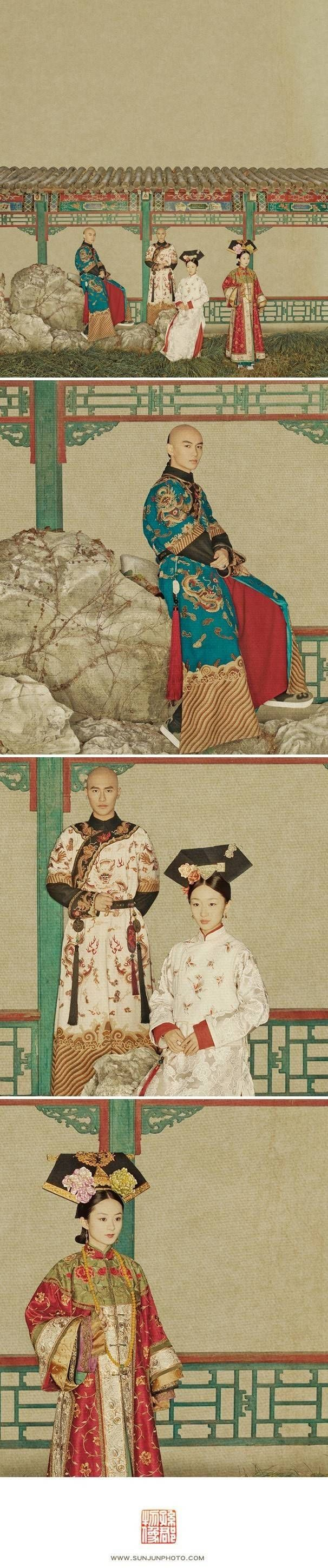 大陸攝影藝術家 - 孫郡,他把現代女明星拍成了中國古畫,創意、技巧雙絕,嘆為觀止,畢業於中國美術學院。其作品融入繪畫表現手法,深具東方韻味,是東方美學復興的代表人物之一,被譽為「攝影詩人」。