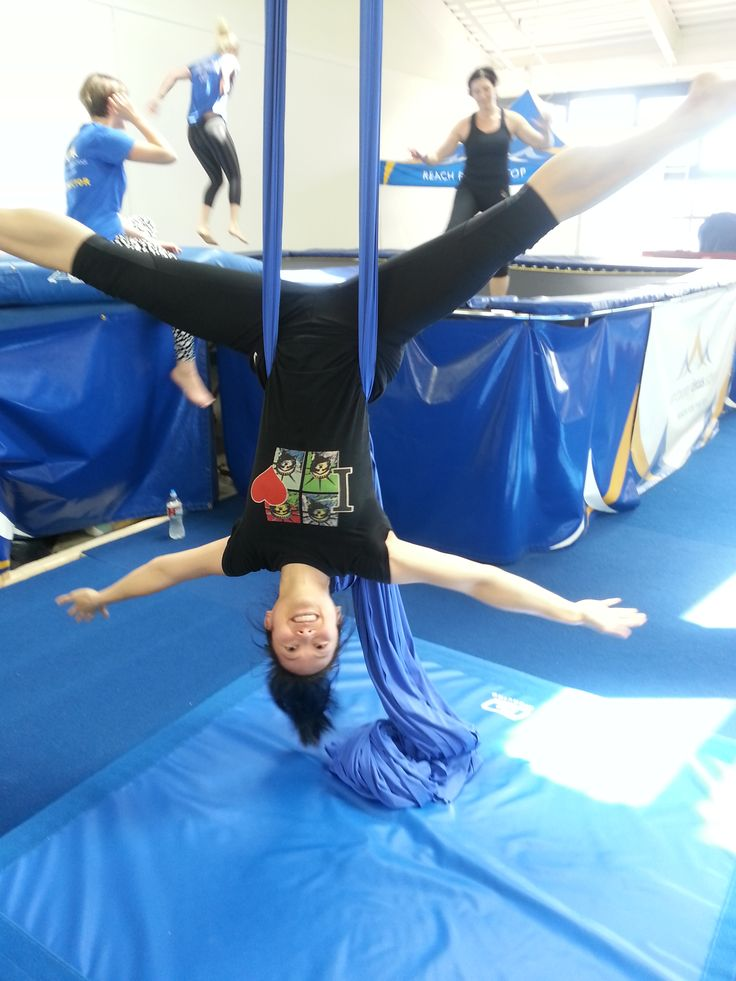Try this: Do you have a circus school in your area? Try them out for something different, playful and tests your spatial orientation!