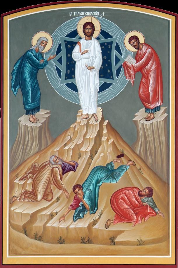 """Mc 9,2-10  """"Ante la proximidad de la Pasión,  fortaleció la fe de los apóstoles…"""