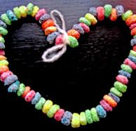 Kids Activities - Art and Craft - Edible Necklace and Bracelets