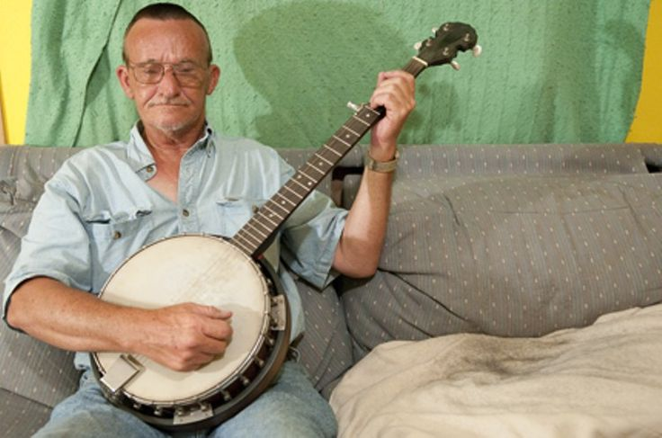 Billy Redden who played banjo in Deliverance