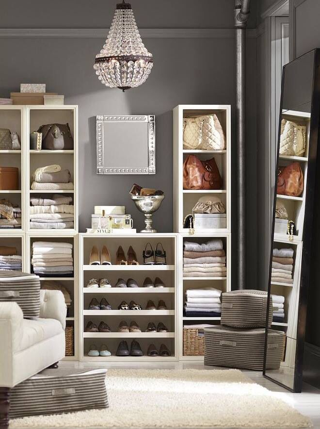 Organize your closet!  great ideas:  Organize clothes by color, separate seasonally and hang your hangers the opposite way to see which clothes your aren't wearing anymore then donate!