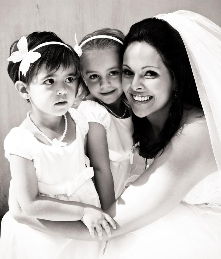 Me and the 2 precious flower girls